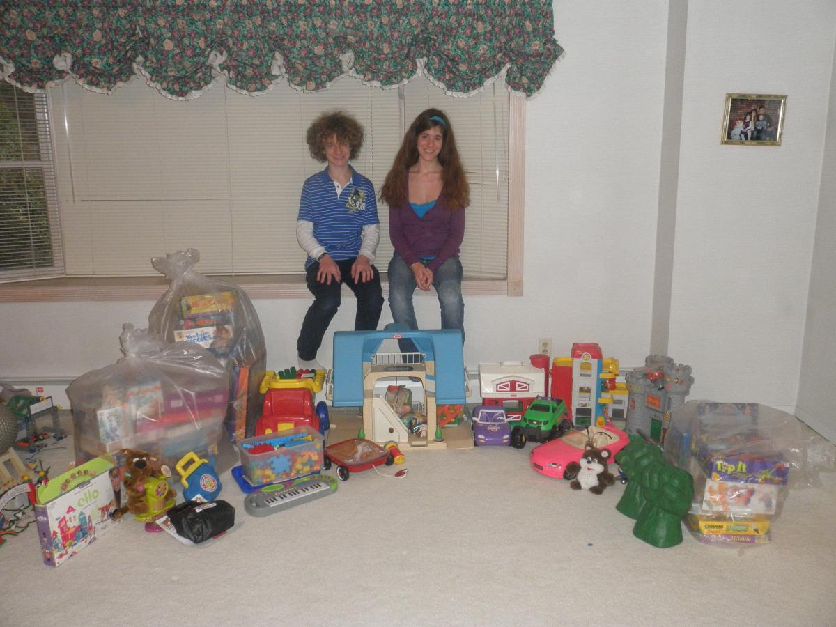 Long Island children collect Toys for Second Chance Toys