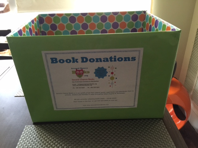 donate and help kids read across america with second chance books